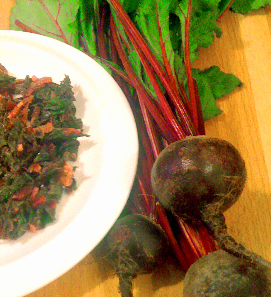 photo of beet greens